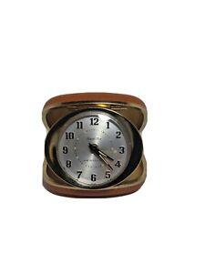 Travel Alarm Clock Mid Century. WORKS. Travel Ben By Westclox