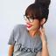 Organic Cotton Womens bisous Slogan T-shirt Eco-Friendly T-shirt.