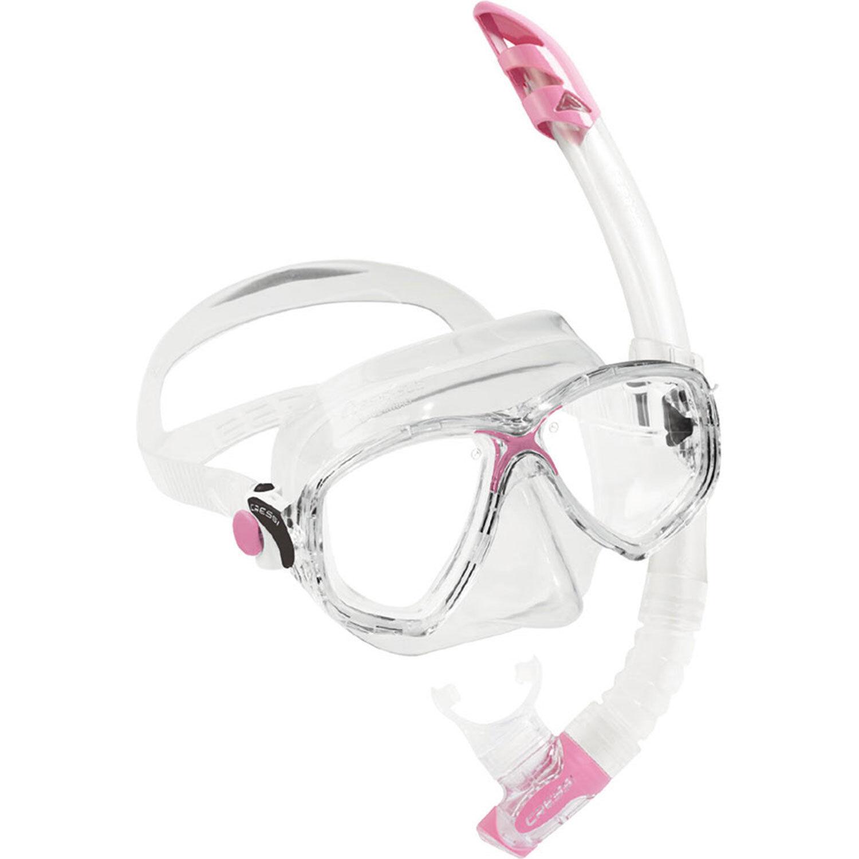 Cressi Marea VIP Mask & Snorkel Set - Pink