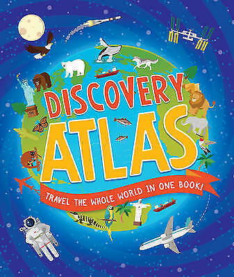 Children's Discovery Atlas by Ganeri, Anita
