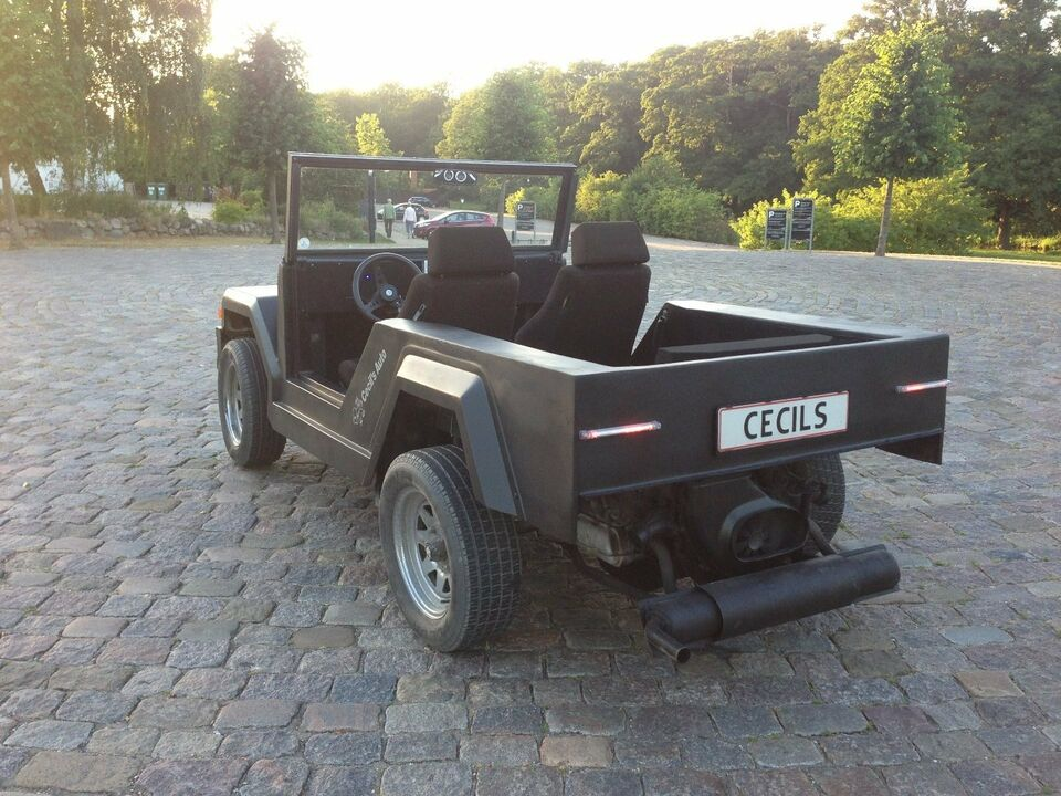 VW Beach Buggy 1,6 d Benzin modelår 1962 km 36000 Sort