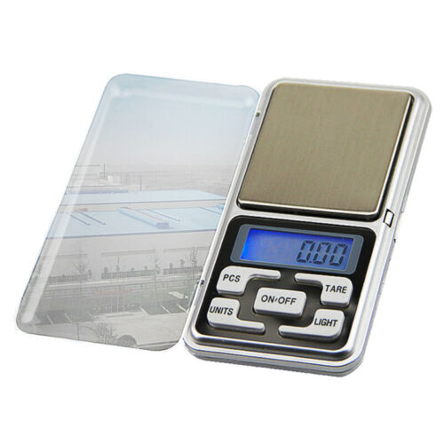 Portable 0.01G-500g Mini Small Digital Scale Jewelry Pocket Balance Weight Gram