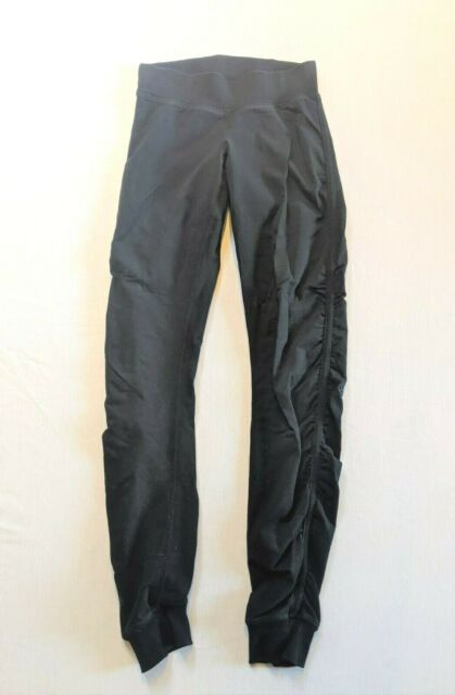 LULULEMON Women's Slim Cotton Jogger Pants - Black - Sz 4