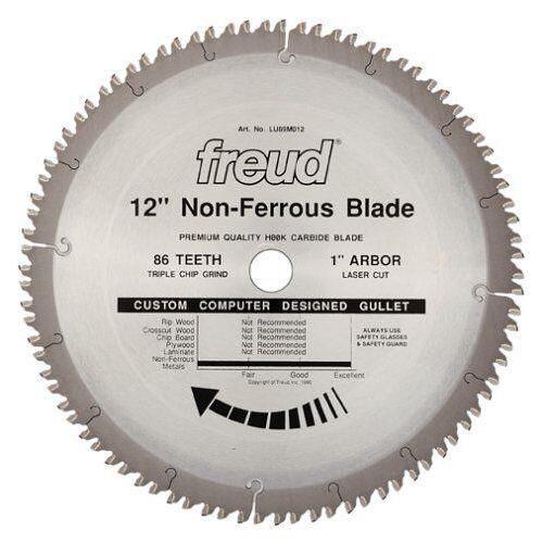 Freud LU89M012 12  Diameter X 86t TCG Thick Non-Ferrous