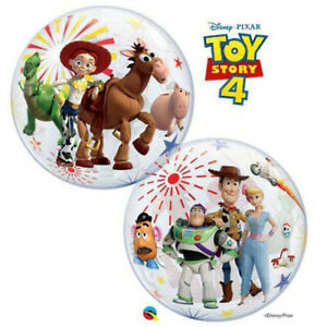 Toy-Story-4-Bubble-Balloon-Kids-Birthday-Party-Supplies-Decoration-Woody-Buzz