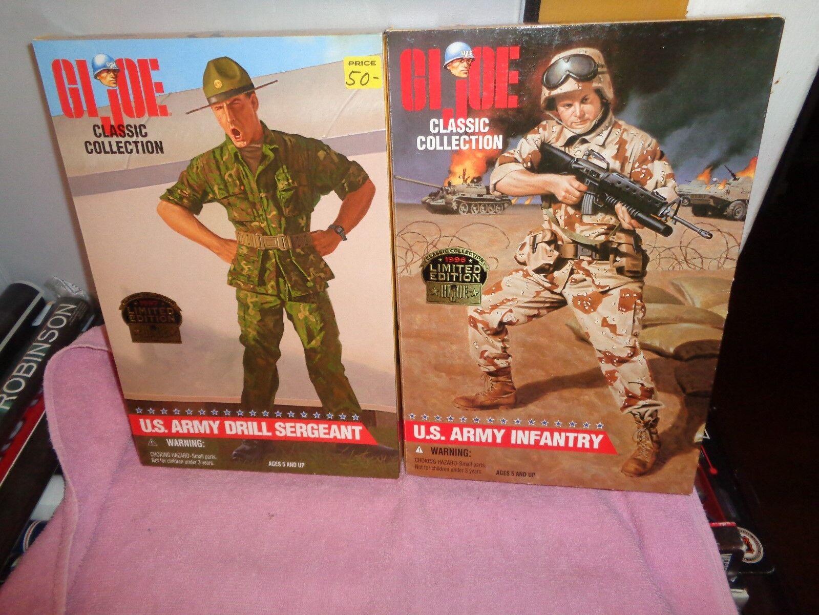 Gi - joe - 1996   1997 drill - sergeant der us - armee infrantry (african - american) handeln.