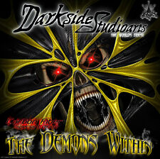 "SKI-DOO 2013-15 XM REV ""THE DEMONS WITHIN"" FULL GRAPHICS WRAP DECAL KIT SUMMIT"