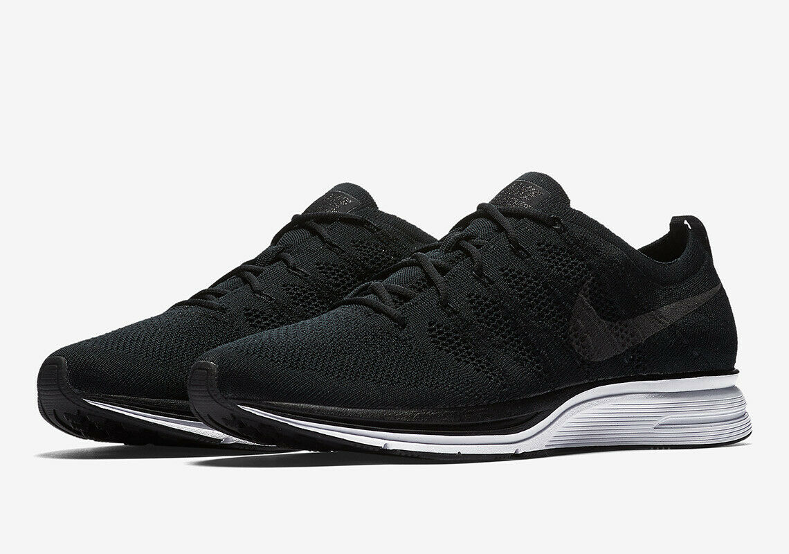 New Nike Flyknit Trainer  Size 11.5 Mens Crossfit Black White shoes AH8396 007