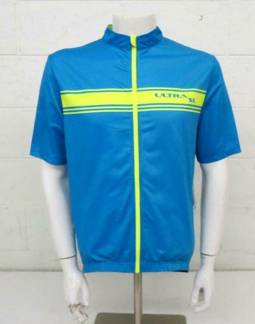 Performance Bicycle Ultra SL bluee Full-Zip Race Fit Cycling Jersey XXL NEW