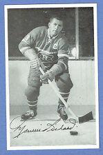 "1950s Canadiens' Maurice ""Rocket""  Richard, Team Issued Postcard, White Border"