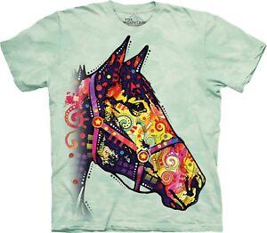 Funky Animal Unisex T Shirt Horse The Mountain Adult ZFwvAZ4q
