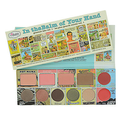 12 Color The Balm Cosmetics Nude Tude Eyeshadow Blushers Palette 100% Genuine