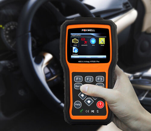 FOXWELL NT630 Pro OBD2 Engine Diagnostic Scanner ABS+SAS+SRS Airbag Reset Tool