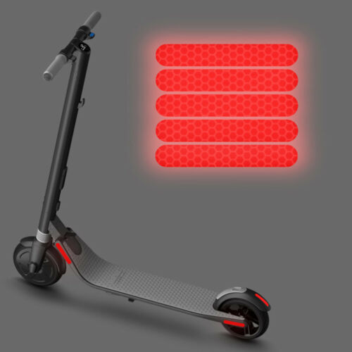 E-Scooter Sticker 4pcs Cursor For Ninebot Reflector Accessories Practical