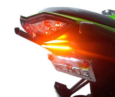 Kawasaki Ninja 1000 fender eliminator Kit complete with LED truns signals and plate lights 2011-2016