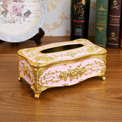Acrylic Waterproof Tissue Box Cover Paper Napkin Holder Case Home Room Car Hote