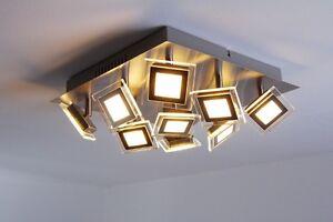 Techo-Led-Spot-Luz-9-X-5-vatios-Diseno-Flush-lampara-la-iluminacion-moderna-Nueva-104428