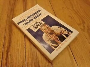 SLAP-SHOT-Paperback-RICHARD-WOODLEY-1977-Berkley-Medallion-Edition-Paul-Newman
