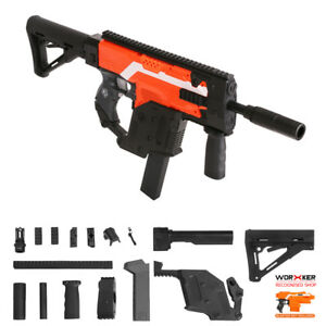 Details about Worker MOD Kriss Vector Imitation Kit Combo 13 Items for Nerf  STRYFE Modify Toy