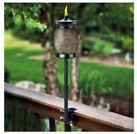Lamplight TIKI 1110024 Stone Resin 4 in 1 Multi Use Torch (86861100240) Garden