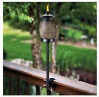 Lamplight TIKI 1110024 Stone Resin 4 in 1 Multi Use Torch (86861100240) Garden
