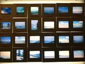 Vintage-Lot-of-24-Color-Photograph-Slides-1960-039-s-California-mostly-Kodachrome