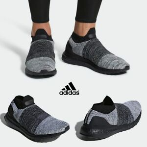 san francisco 76940 cfc4f Image is loading Adidas-Original-Ultraboost-Laceless-Boost -Runner-Shoes-Comfy-