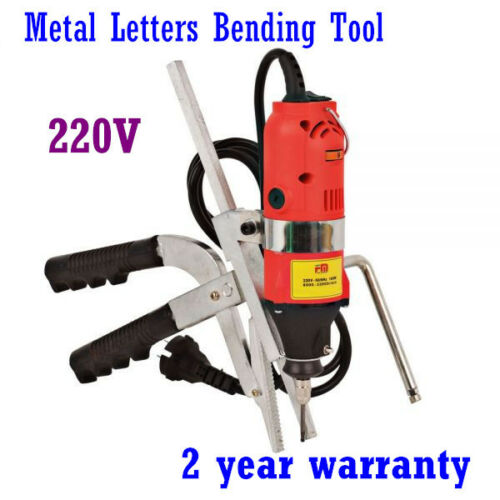 Metal Letters Bender Bending Tool for 3D Channel LettersEnhanced Version, 220V