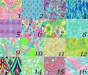 Lilly Pulitzer Prints Matte Finish Vinyl Sheets In 12x12 And 12