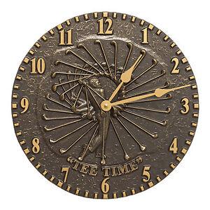 Golfer-12-034-Indoor-Outdoor-Wall-Clock