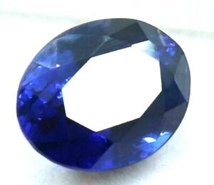 7.10 Ct Natural Royal Blue Sapphire Oval STUNNING Ceylon Certified Loose Gems