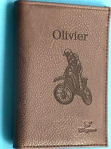 code promo 5596e 9ab8b Détails sur portefeuilles homme simili cuir personnalisé gravure+ prénom au  choix offerts