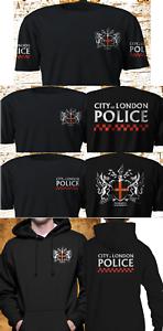 New-City-Of-London-Police-Metropolitan-SWAT-Service-Black-T-Shirt-S-4XL