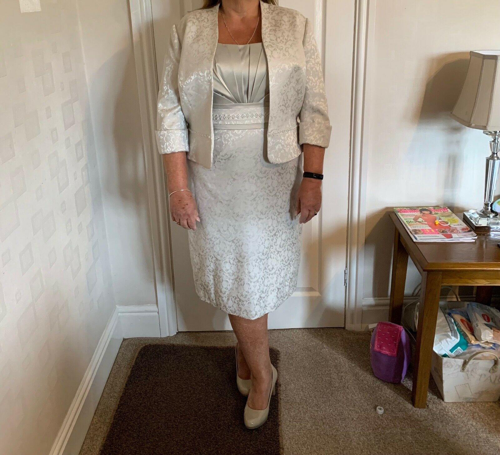 ladies wedding outfit size 18