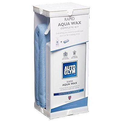 Autoglym Rapid Aqua Wax Kit Gift Set .