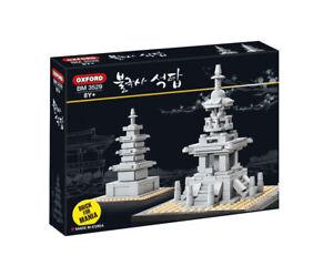 Oxford Block Brick For Mania Bulguksa Pagodas Gyeongju