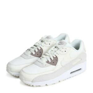 Details about Nike Air Max 90 Premium Trainers Shoes Men's Beige 700155 102