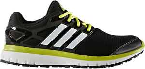 ADIDAS ENERGY CLOUD MEN'S BLACK cloudfoam ortholite RUNNING SHOES sz 9.5 #BB4114