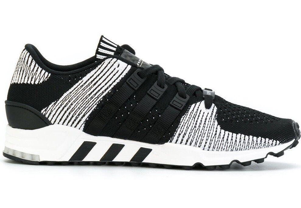 NEW  160 Adidas Originals EQT Support RF Primeknit Sneakers Black White sz 7