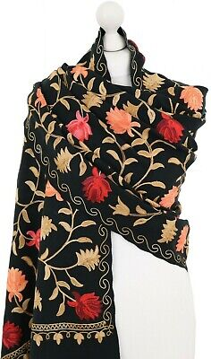 Authentic Indian Elephant Shawl Scarf Hijab Spring Mother Sister Friend Gifts UK