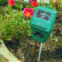 3 In 1 Ph Tester Soil Water Moisture Light Test Meter For Garden Plant Flower Cy