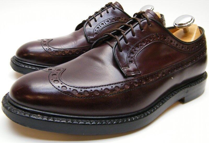 MENS FABI FLEX GOODYEAR BURGUNDY WINGTIP OXFORD new shoes SHOES SZ 40 1 2 US 7.5 D