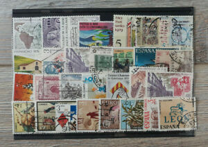 Stamps-Spain-Collection-Different-Mix-Unused-HIGH-VALUE-18