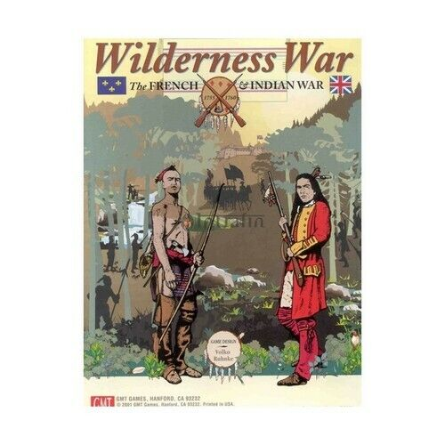 Wilderness war  the French & Indian war, wargame, new by GMT, English language