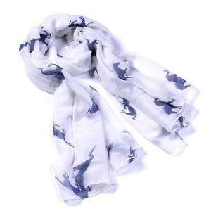 Soft-Fashion-Running-Horse-Women-Ladies-Wrap-Stole-Print-Animal-Scarf-Shawl