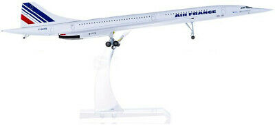 Air France Concorde Passenger Airplane Plane Metal Aircraft Diecast Model
