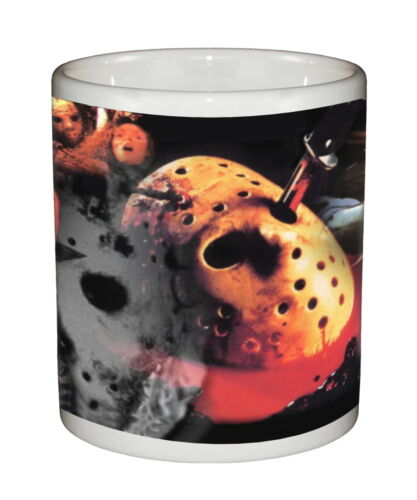 Friday the 13th Beverage /& Coffee Mug Ceramic Tumbler