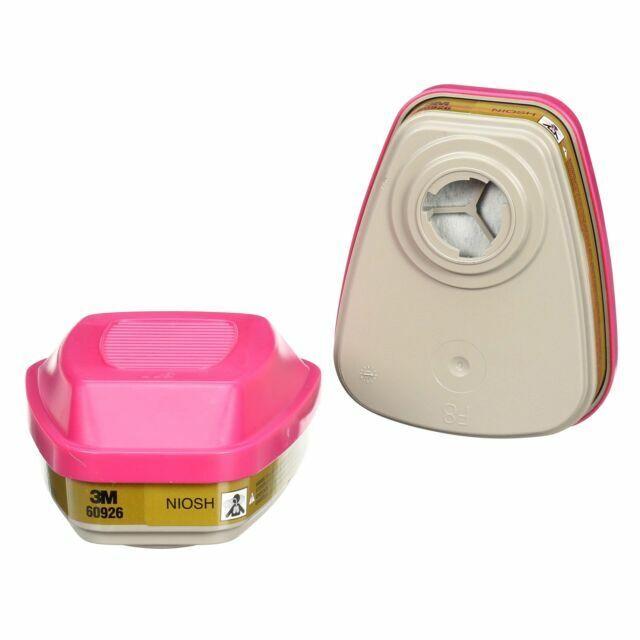P100 3M 60926 Multi Gas Vapor Cartridge Filter 2 Pack