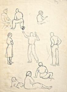 Dorothy-Eaton-Drawing-XIX-Figure-Studies
