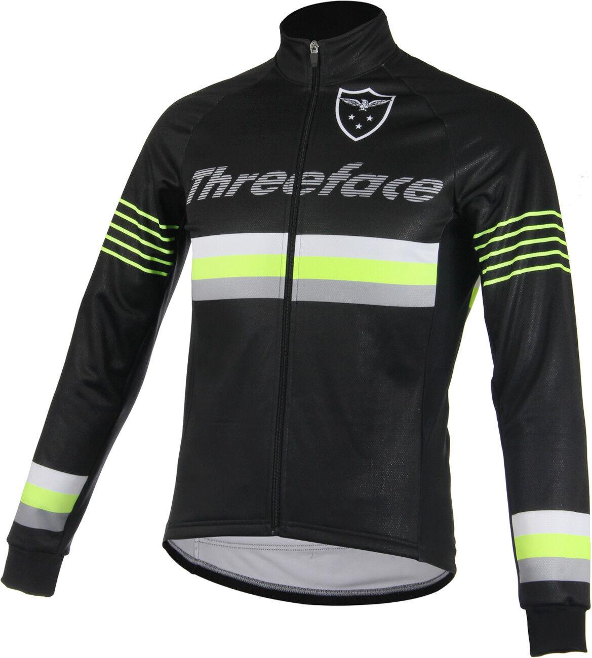 Giubbino invernale ciclismo windtex antivento yellow fluo black bici mtb giacca